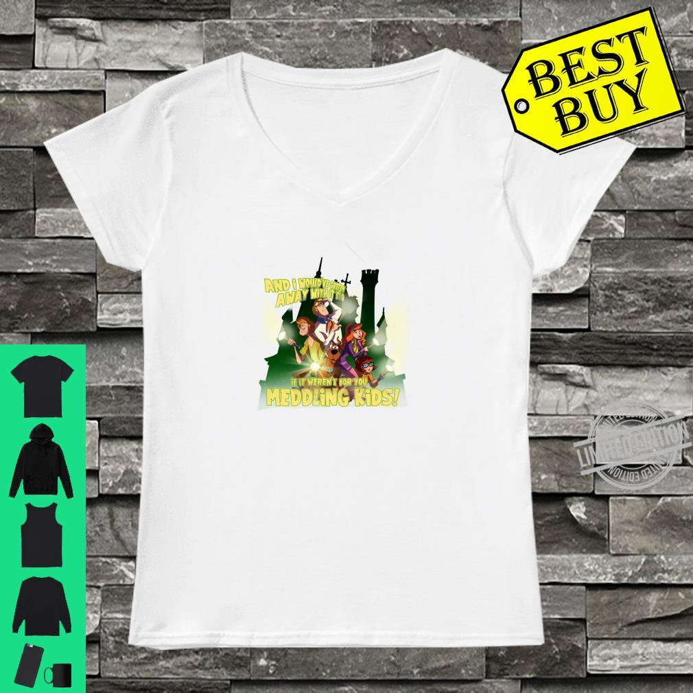 ScoobyDoo Would've Gotten Away With It Shirt ladies tee