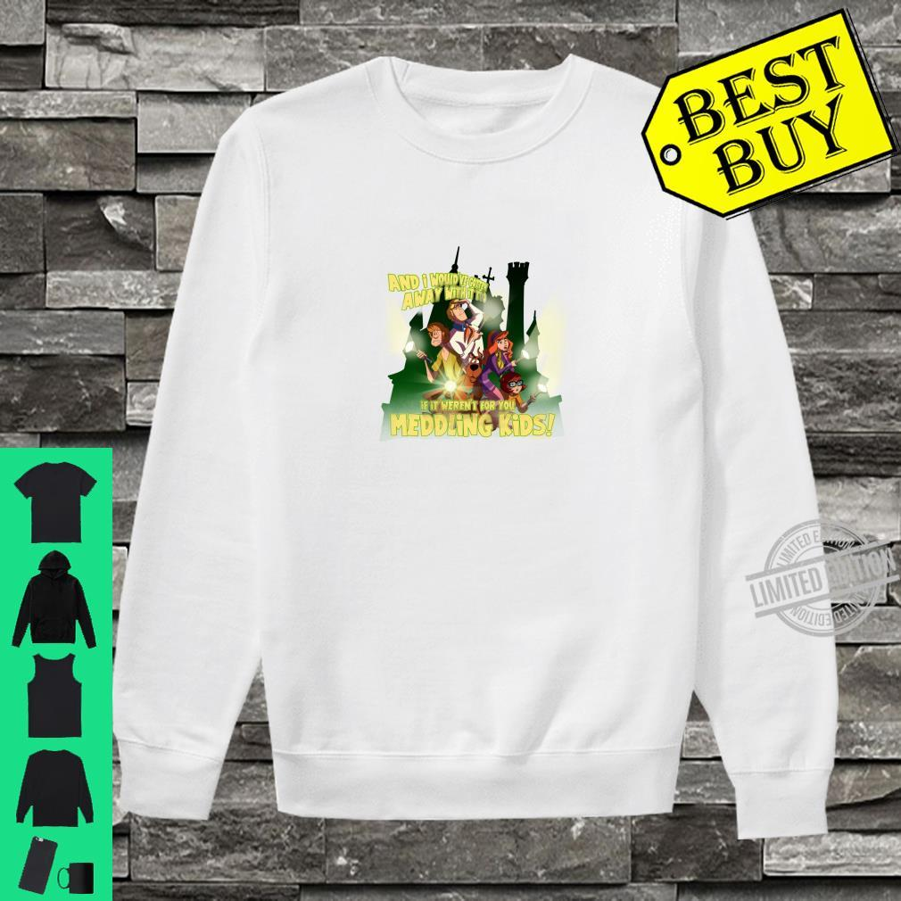 ScoobyDoo Would've Gotten Away With It Shirt sweater