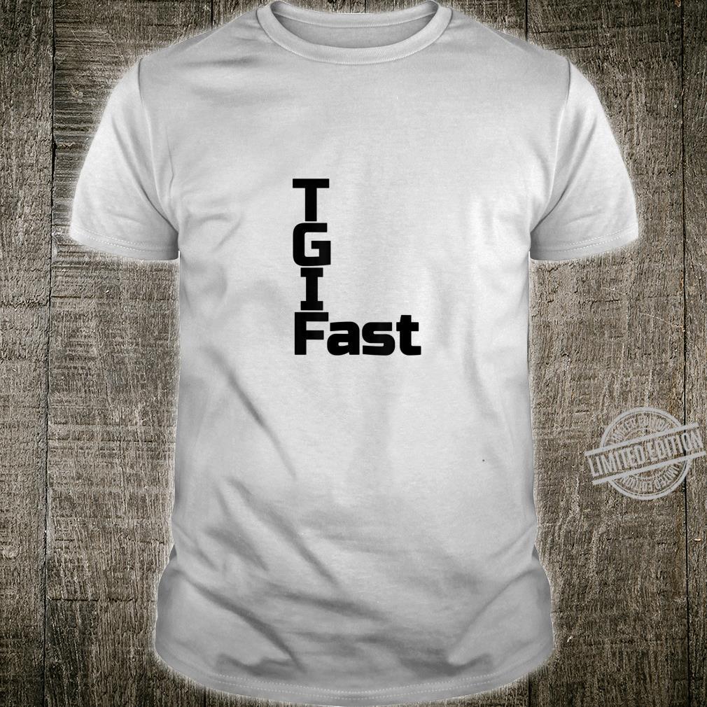 Thank God I Fast Feeding Window Keto Ketogenic Shirt