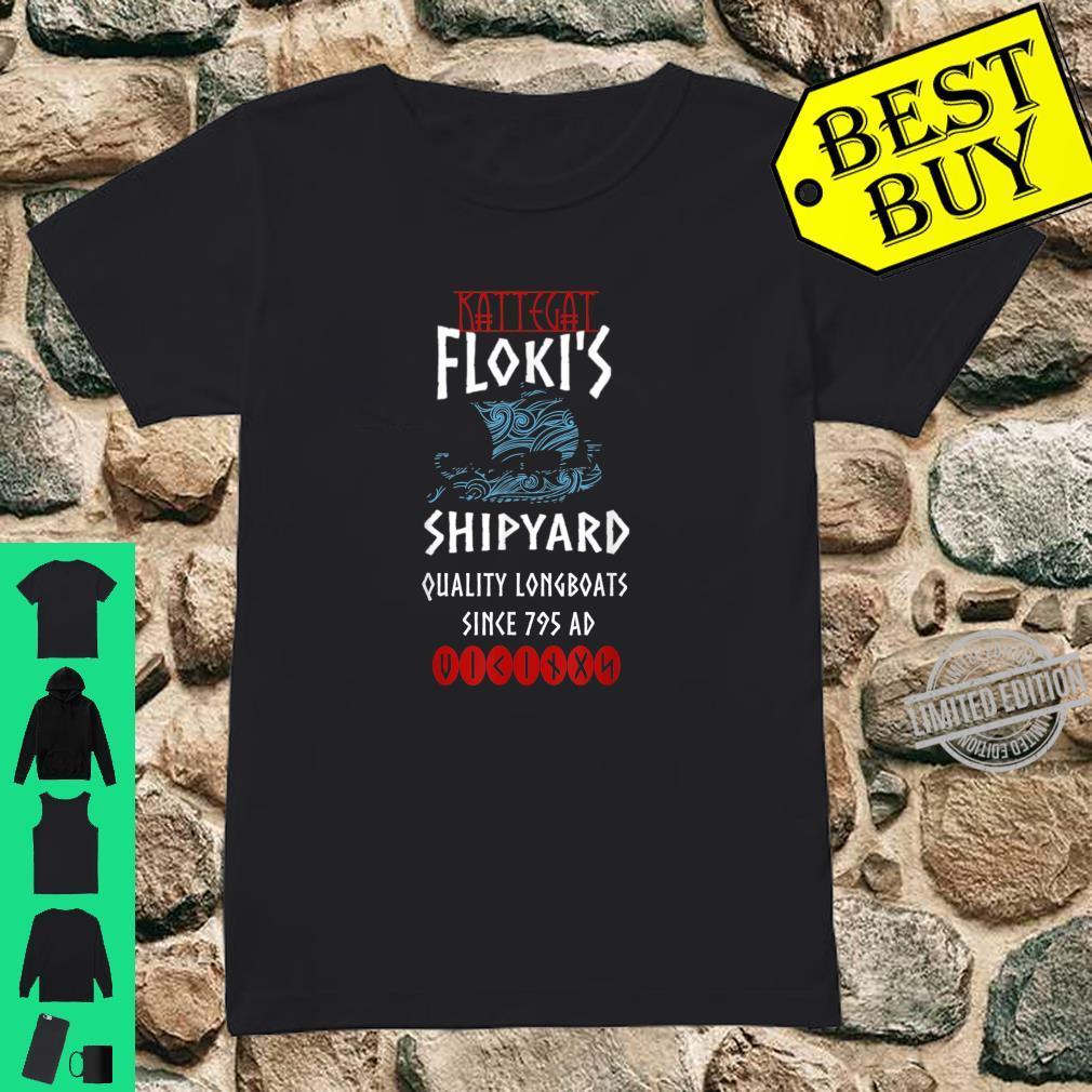 Wikinger Kattegat Floki Viking Kattegat Floki Geschenk Shirt ladies tee